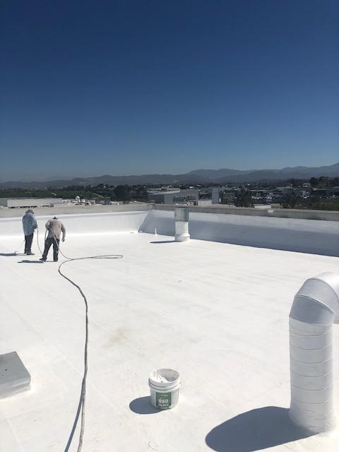 Orange County Silicone Roof Coating